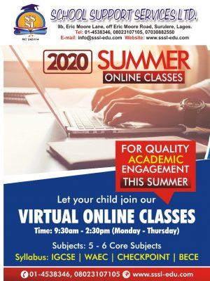 2020 online summer class  Alevel , IGCSE Remedial coaching class Lagos, Nigeria